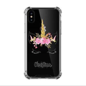 iPhone XS Max Custom Made Unicorn w/add a name